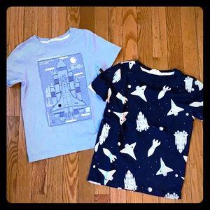 H&M Boys Rocket T-shirt Bundle